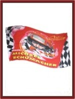 Michael Schumacher World Champion Flag